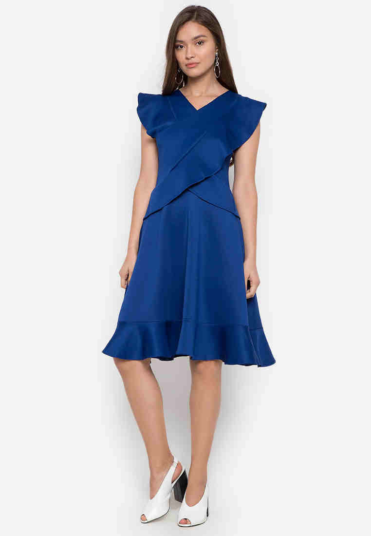 Dallas Ruffle Dress - TM
