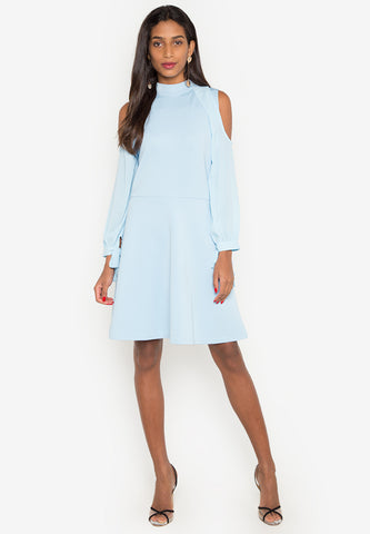 Zedd Cold Shoulder Dress