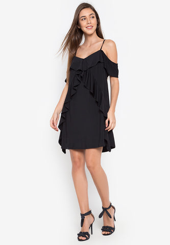 Delhi Ruffle Dress