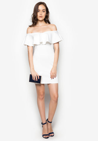 Noah Off Shoulder Dress -  - 1