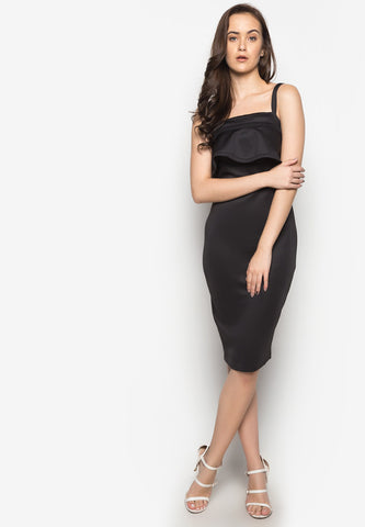 Nicolo Flounce Dress -  - 1