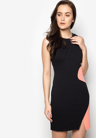 Norman Color Block Dress -  - 1