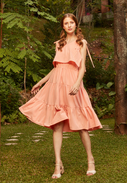 Earlton Shirred Dress - TM