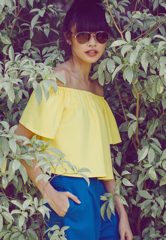 Friday Off Shoulder Top -
