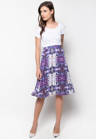 Dominic Pleated Skirt -  - 1