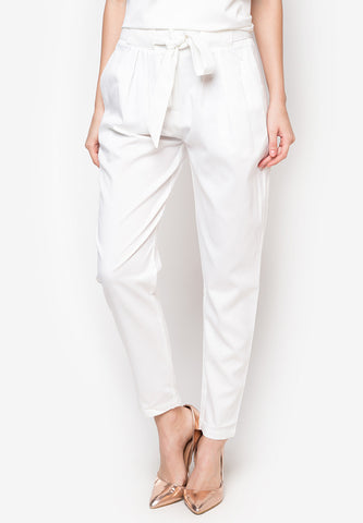 Gibson Paperbag Trousers -  - 1