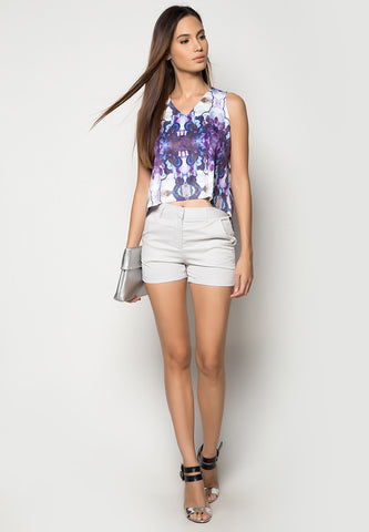 Dominic Cropped Top -  - 1