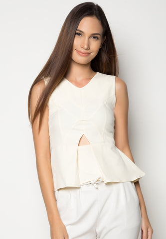 Griffin Cutout Top -  - 1