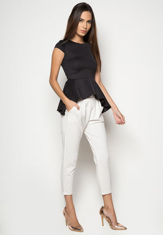 Gemini Peplum Top -  - 1