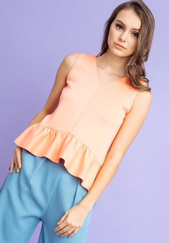 Oliver Ruffle Top