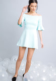 Raffy Off Shoulder Mini Dress