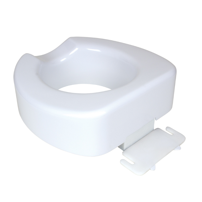 Quick-Lock Raised Toilet Seat