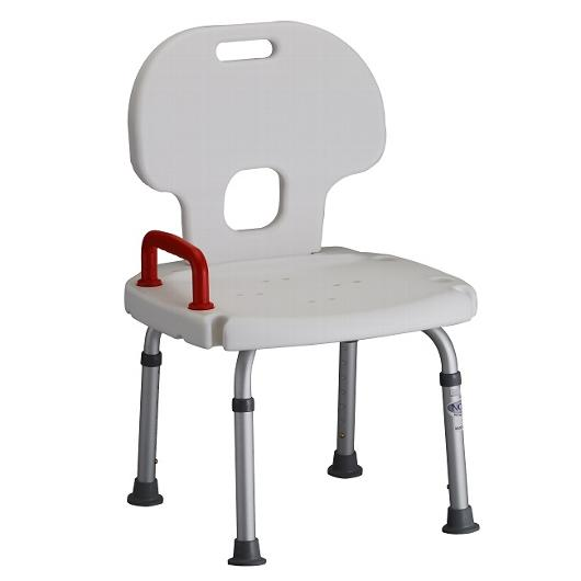 Deluxe Shower Bench W/Back