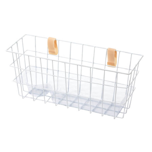 Strap-On Walker Basket with Tray