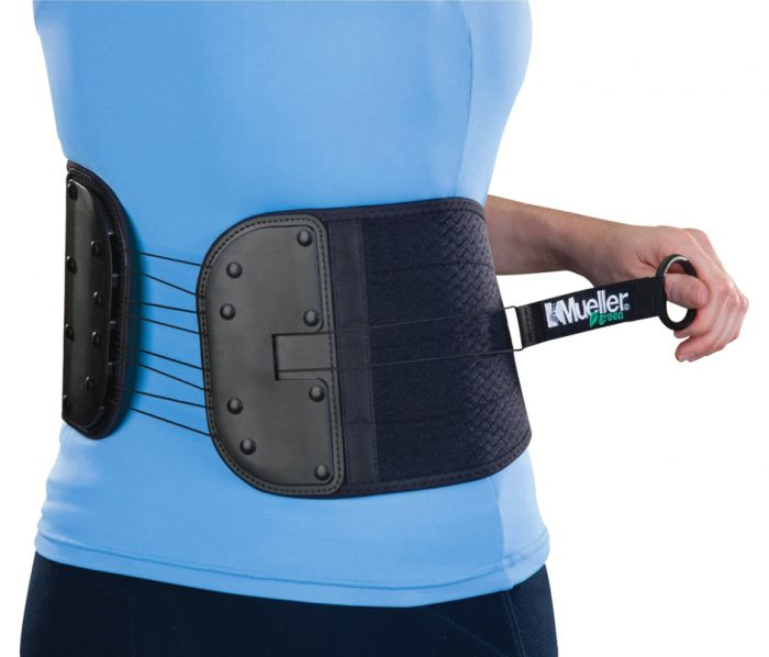 Mueller Green® Adjustable Back & Abdominal Support