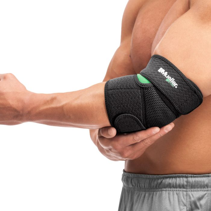 Mueller® Green Adjustable Elbow Support