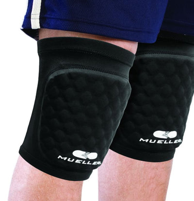 Diamond Pad Elbow Knee Shin Sleeve, White