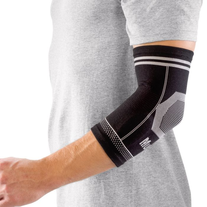 4-Way Stretch Elbow Support, Black