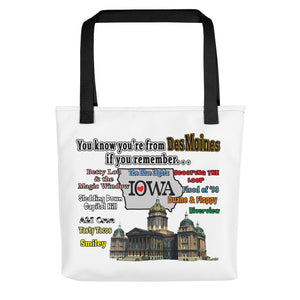 You Know You're from Des Moines, Tote bag