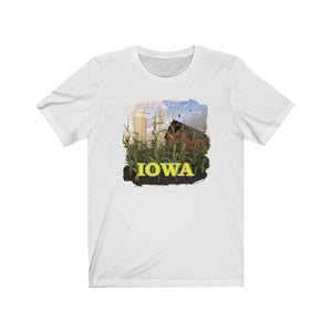 Iowa Red Barn, Short Sleeve Tee