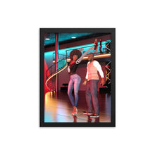 Load image into Gallery viewer, Couple on the Dance Floor, Framed poster