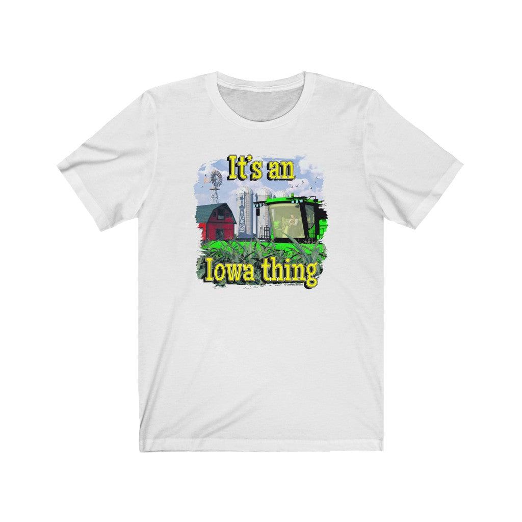 It's an Iowa thing, Short Sleeve Tee