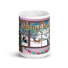 Load image into Gallery viewer, Christmas Kids Playing, Mug