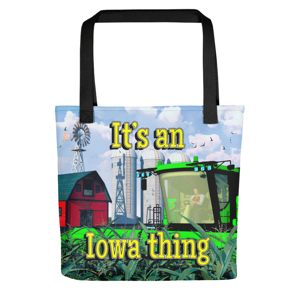 """It's an Iowa thing"" Tote bag"