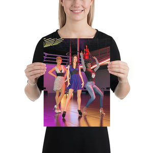 Ladies on the Dance Floor, Poster