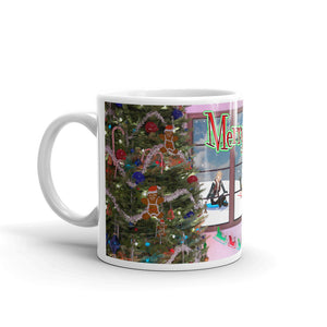 Christmas Kids Playing, Mug