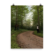 Load image into Gallery viewer, Trail with People at Dusk, Poster