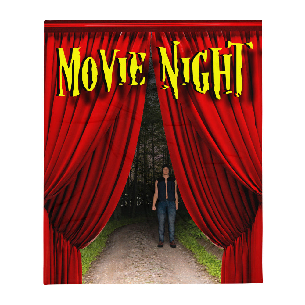 Movie Night, Throw Blanket