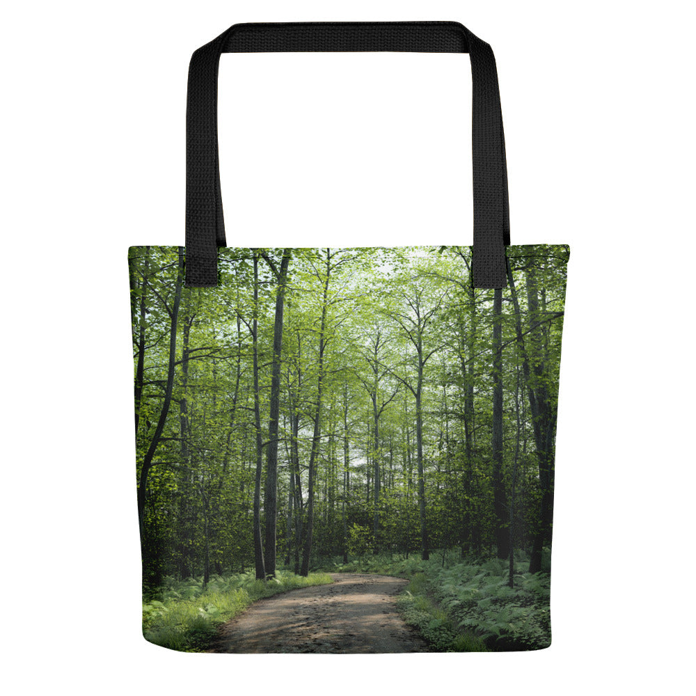 """On The Trail"" Tote bag"