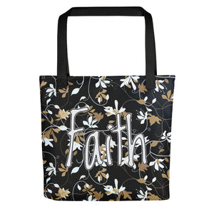 Faith Floral, Tote bag