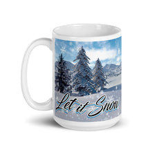 Load image into Gallery viewer, Let it Snow, Mug