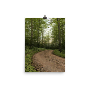 Trail at Dusk, Poster