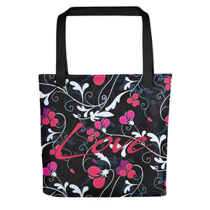 Floral Love, Tote bag