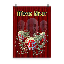 Load image into Gallery viewer, Movie Night Three heads poster