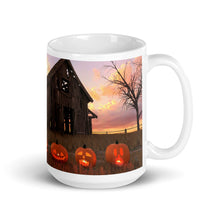 "Load image into Gallery viewer, ""Five Pumpkins"" Mug"