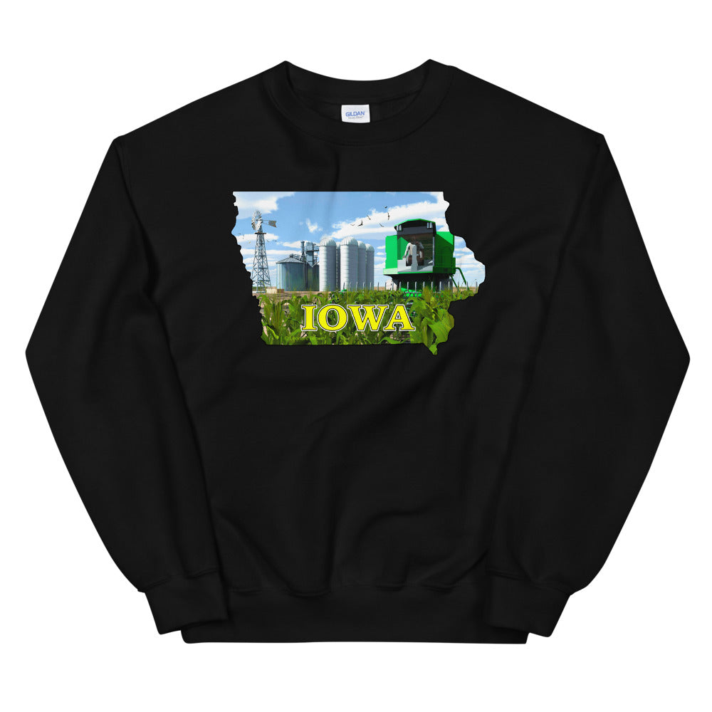 Iowa Green Combine, Unisex Sweatshirt