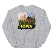 Load image into Gallery viewer, Iowa Silo Red Barn, Unisex Sweatshirt