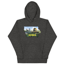 Load image into Gallery viewer, Iowa Yellow Combine, Unisex Hoodie