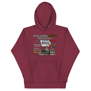 You know you're from Des Moines, Unisex Hoodie