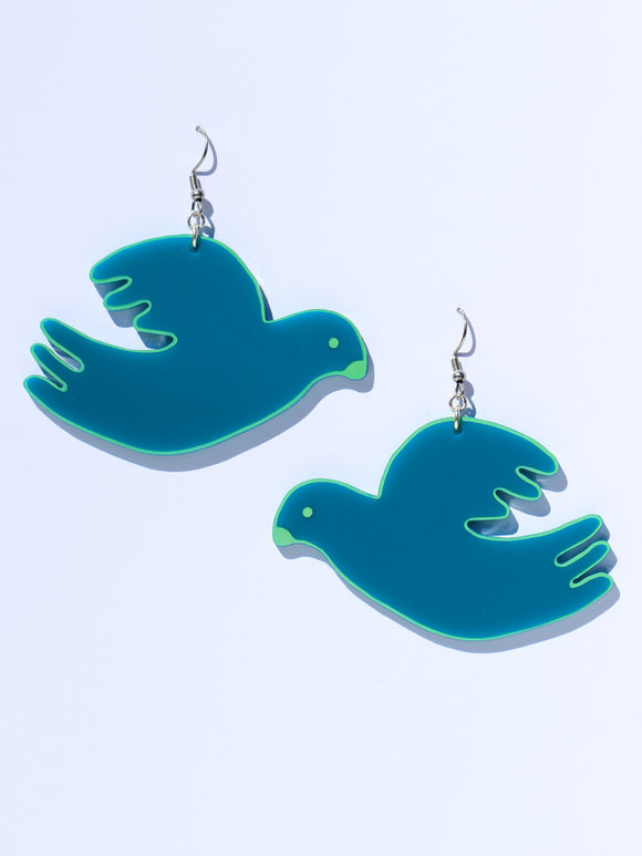 Earrings-dove-green