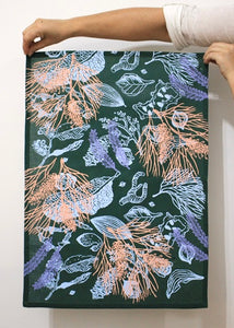 Tea Towel - Top End Botanicals (two+ colours)