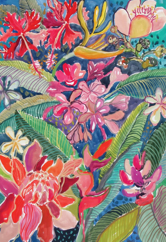 Art Card Pack - Tropical Botanicals