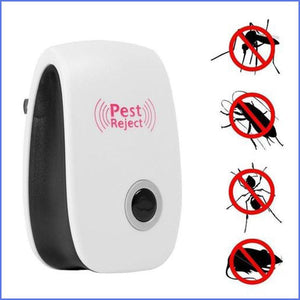 Pest Reject Quickly Repels Insects & Rodents For You With 24/7 High Tech Ultrasonic Sound Waves And The Results Are Amazing