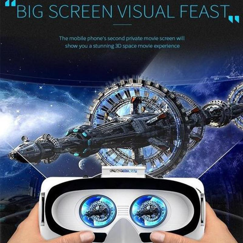Cool Virtual Reality Headset, 3D VR Glasses for Video Games & Movie- Compatible with iOS, Android and Other Phones Within 4.7-6.0 inch