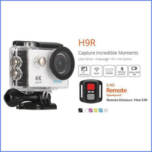 GoPro Style Action Camera With Full Remote & Complete Upgraded Accessory Bundle