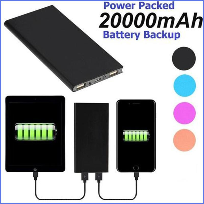 UNIVERSAL 20000mAh Cell Phone Power Backup Is Ready When You Need It